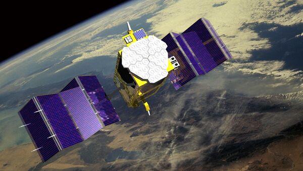 Космический аппарат производства Airbus Defence and Space. Архивное фото