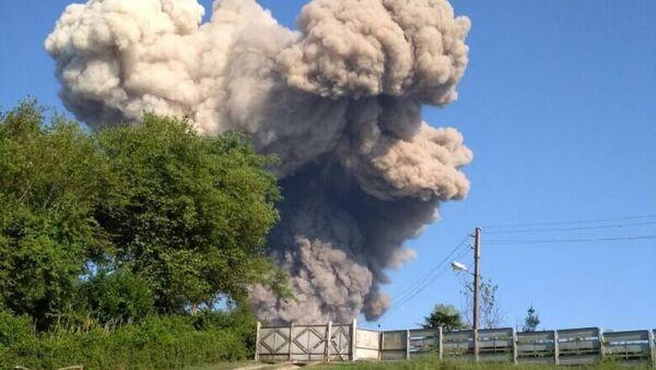 Взрыв на складе боеприпасов в Абхазии. 2 августа 2017