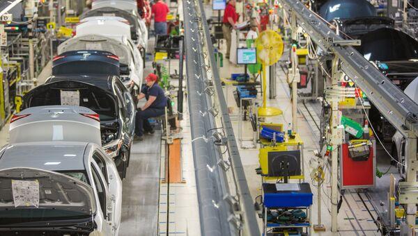 Производство автомобилей Toyota