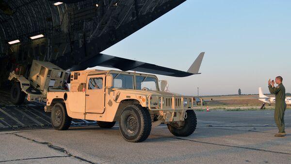 Американские военные на тренировочной базе в Бульбоаке