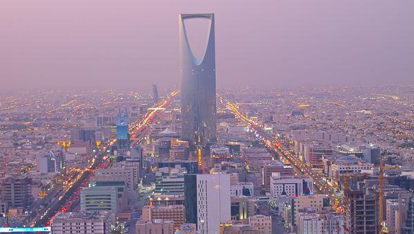 Королевская башня в столица Саудовской Аравии Эр-Рияде