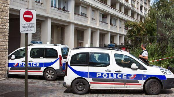 Сотрудники французской полиции. Архивное фото