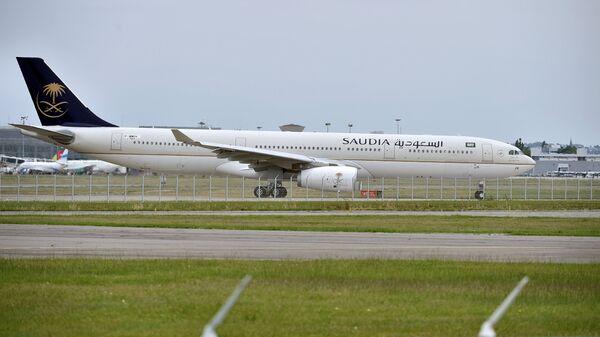 Самолет саудовской авиакомпании Saudia. Архивное фото