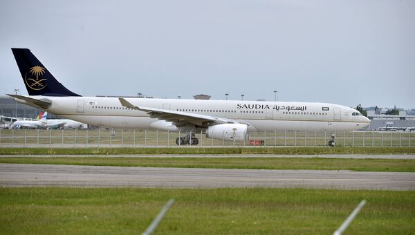 Самолет Airbus A330 саудовской авиакомпании Saudia. Архивное фото