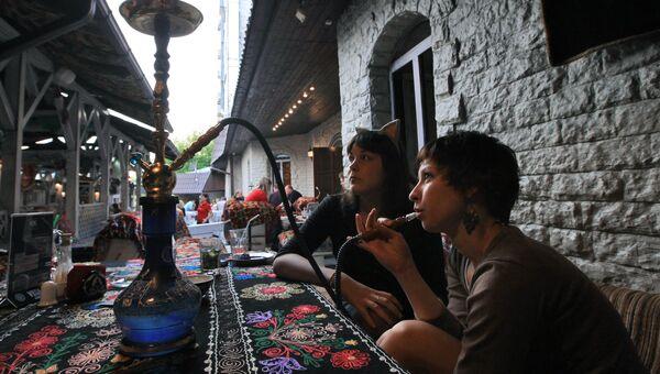 Курение кальяна в ресторане