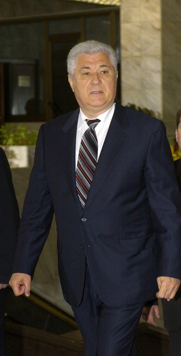 Президент Молдавии Владимир Воронин