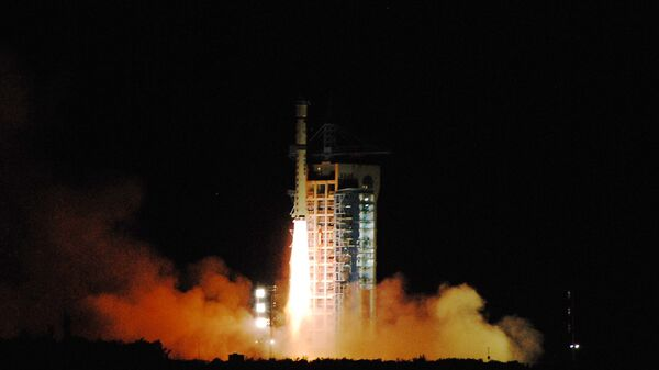 Пуск китайской ракеты-носителя. Архивное фото