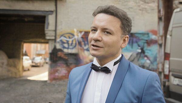 Телеведущий Александр Олешко. Архивное фото
