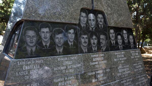 Мемориал морякам-подводникам, погибшим на атомной подводной лодке Курск в Севастополе. Архивное фото