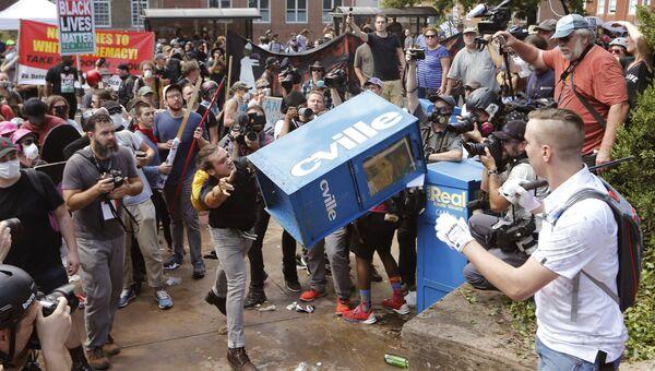 Столкновения в Шарлоттсвилле. Архивное фото