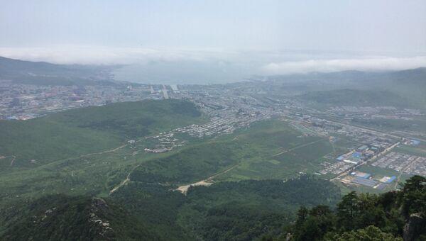 Вид с горы Сахян