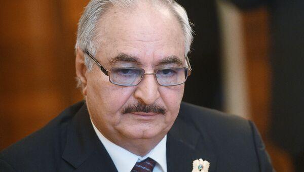 Командующий Ливийской национальной армией Халифа Хафтар. Архивное фото