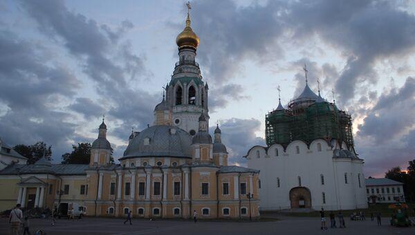 Вологодский кремль. Архивное фото
