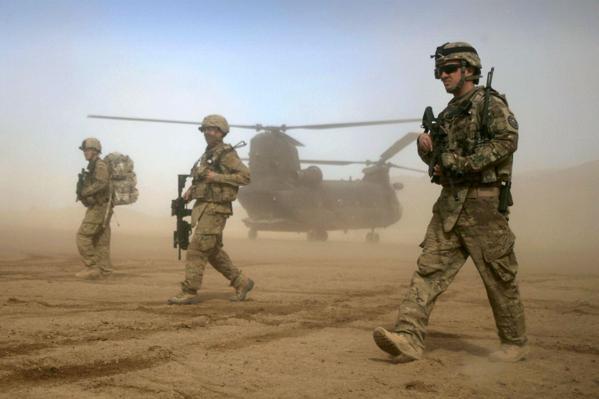 Военнослужащие США в Шинданде, Афганистан - РИА Новости, 1920, 28.01.2021
