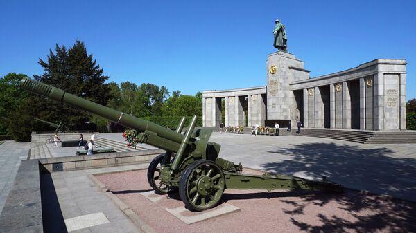 Военный мемориал в берлинском парке Тиргартен