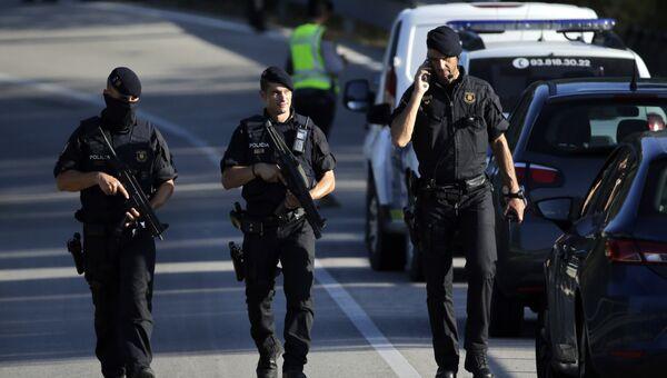 Полицейские в Испании. Архивное фото