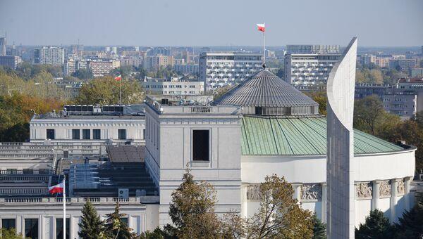 Сейм Польши в Варшаве. Архивное фото
