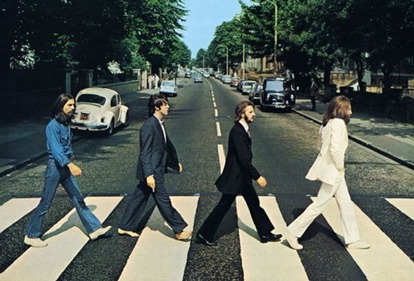Обложка альбома Abbey Road группы Beatles