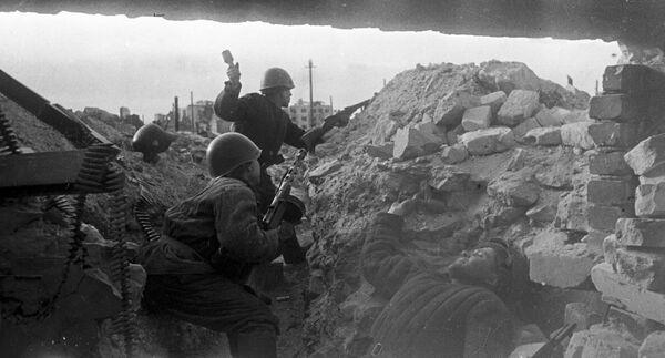 Сталинград. Сентябрь 1942 г. Смертельные бои за город