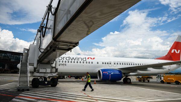 Самолет Boeing 737 авиакомпании Nordwind Airlines. Архивное фото.