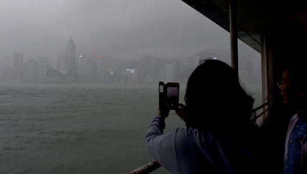 Тайфун. Архивное фото