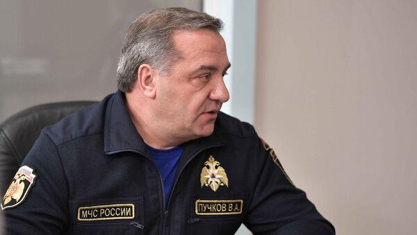 Глава МЧС Владимир Пучков. Архивное фото
