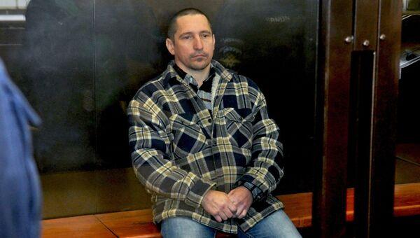 Сергей Егоров во время судебного заседания. Архивное фото