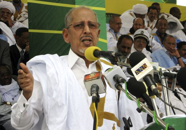Президент Мавритании. Архив