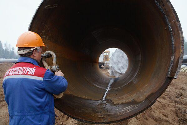 Германия выдала окончательное разрешение на строительство Nord Stream