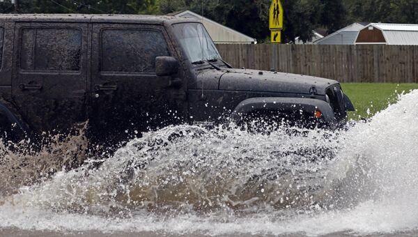 Наводнение после урагана Харви в Лейк-Чарльз, штат Луизиана. 29 августа 2017