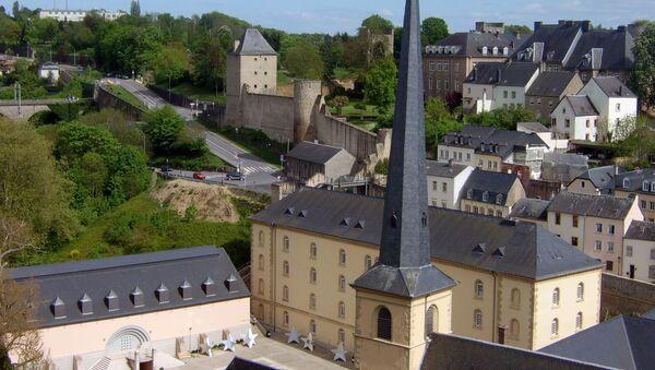Люксембург. Церковь Ионна  Крестителя