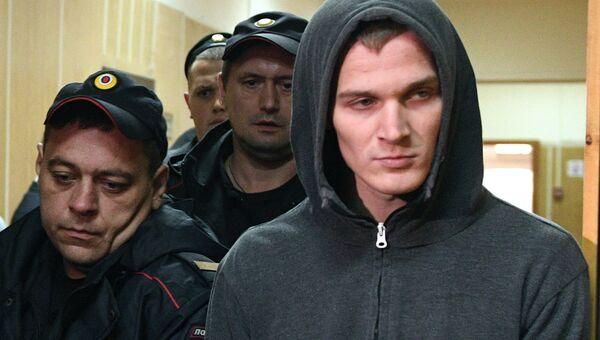 Корней Макаров в Хамовническом суде. 30 августа 2017