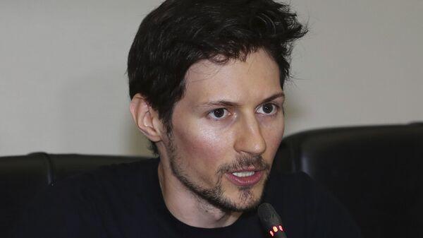 Сооснователь соцсети ВКонтакте, создатель защищенного мессенджера Telegram Павел Дуров