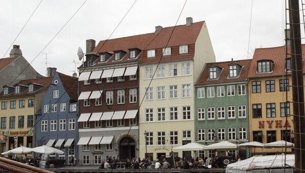 Набережная канала в Копенгагене. Архивное фото