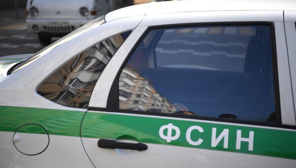 Автомобиль ФСИН. Архивное фото