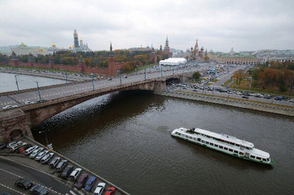 Москва-река. Кремль. Архив