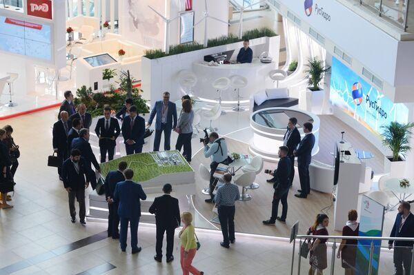 На площадке Восточного экономического форума во Владивостоке