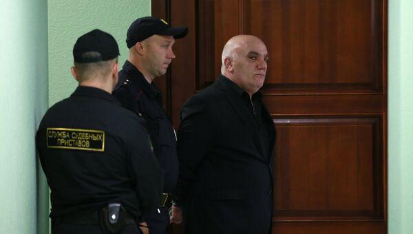 Бизнесмен Арам Петросян в Московском окружном военном суде. 7 сентября 2017