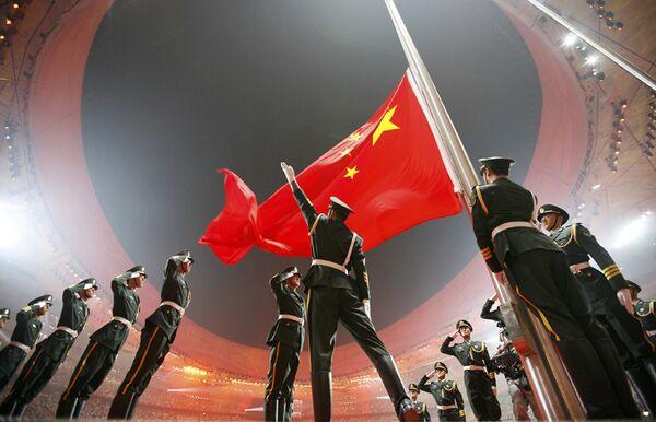 Церемния открытия Олимпийских Игр в Пекине