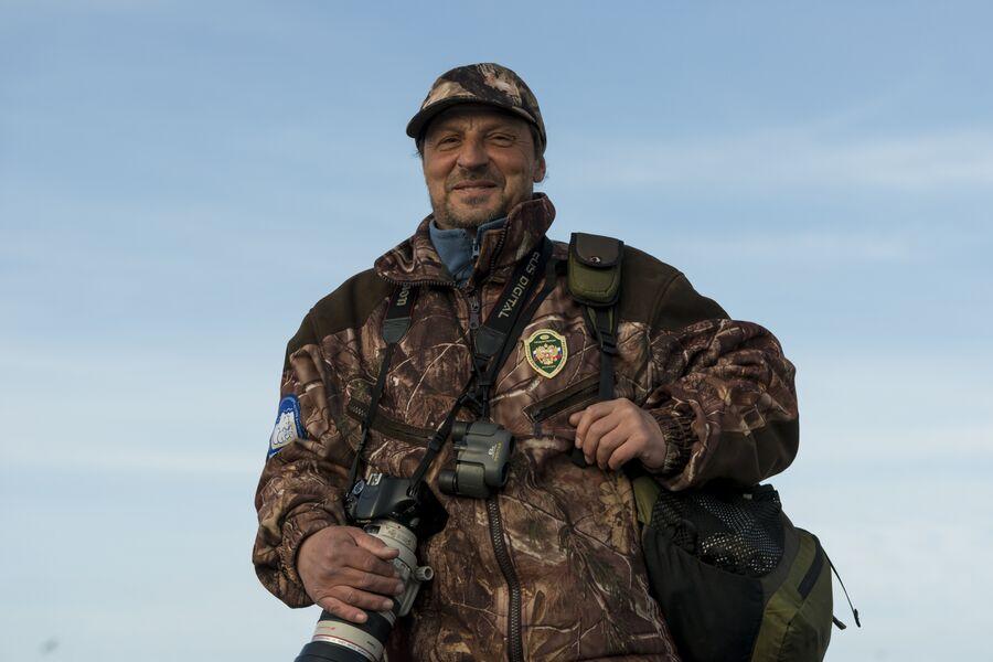 Игорь Олейников, старший государственный инспектор в области охраны окружающей среды государственного природного заповедника Остров Врангеля