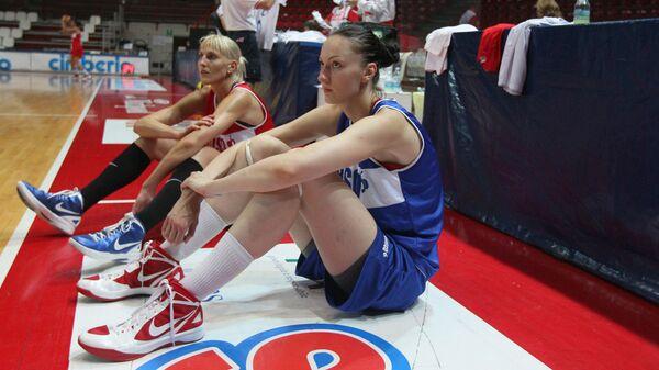 Баскетболистка женской сборной России Екатерина Лисина