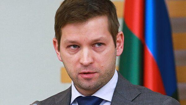 Руководитель Федерального агентства Росимущество Дмитрий Пристансков