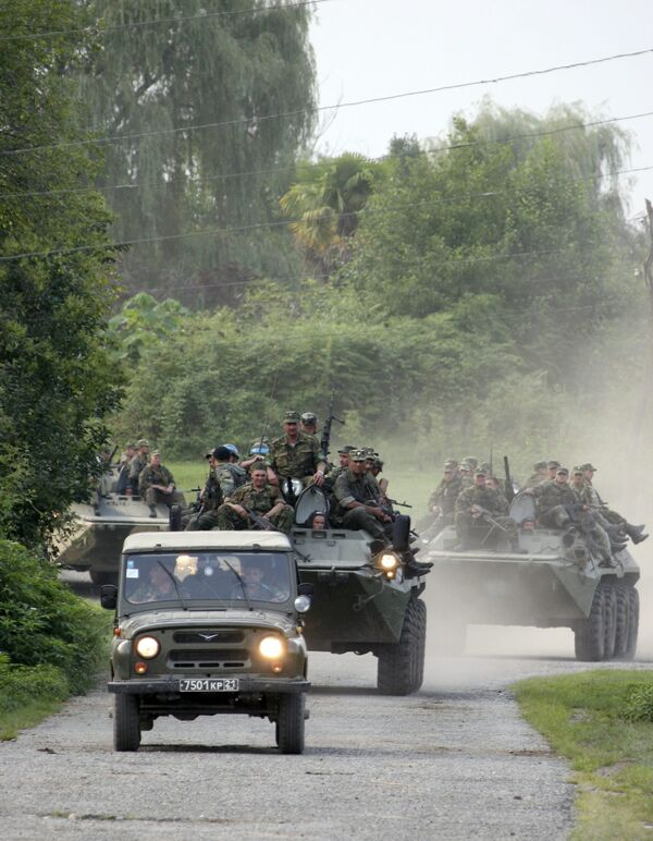Российские вооруженные силы в Абхазии