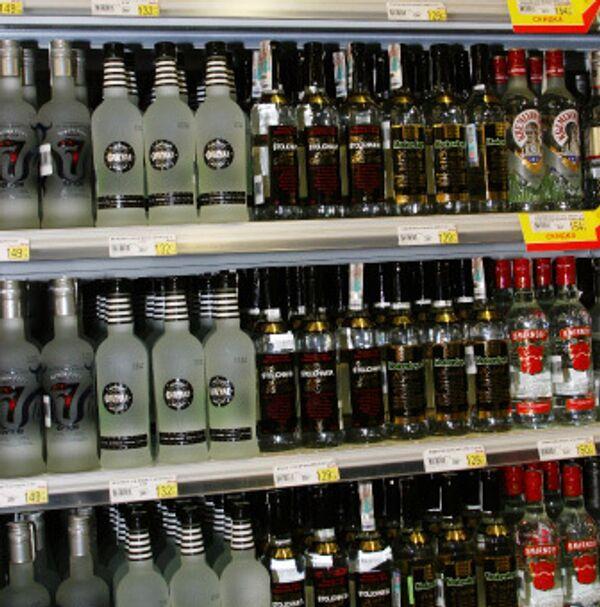 Импортный алкоголь в Москве станет дороже, а российская водка дешевле