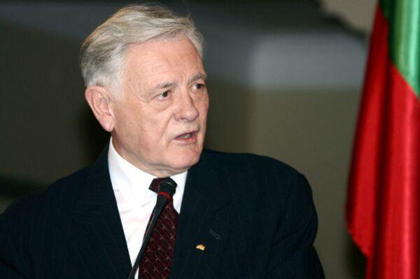 Президент Литвы Валдас Адамкус