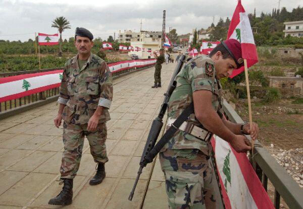 Ливанские военные. Архив