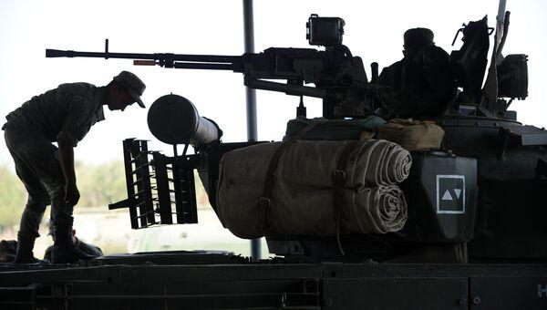 Учебные стрельбы мотострелковой дивизии