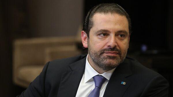Председатель Совета министров Ливана Саад Харири