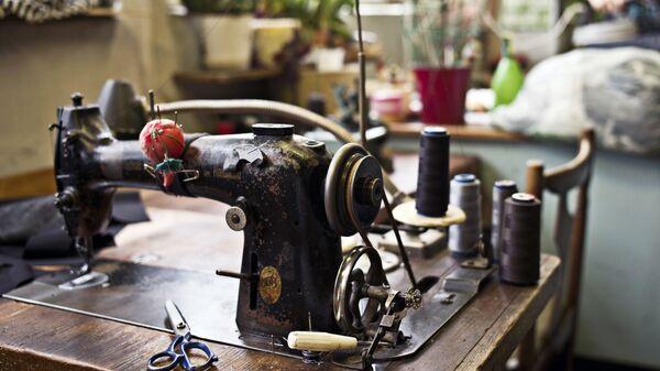 Швейная машинка. Архивное фото