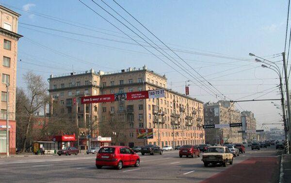 Москва. Ленинский проспект